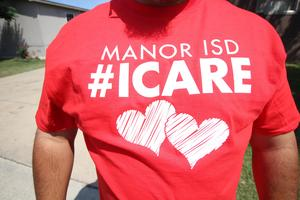 Manor ISD I Care T-shirt