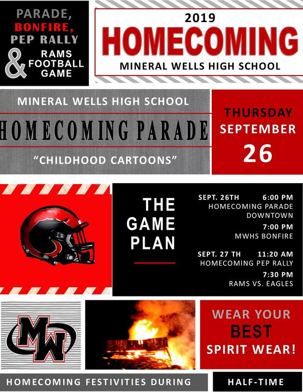 MWHS Homecoming Festivities September 23-27