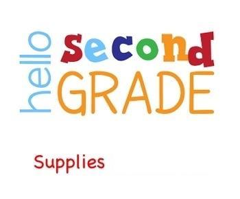 2nd Grade Icon and link for supplies
