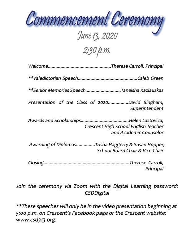 Class of 2020 Commencement Page 4