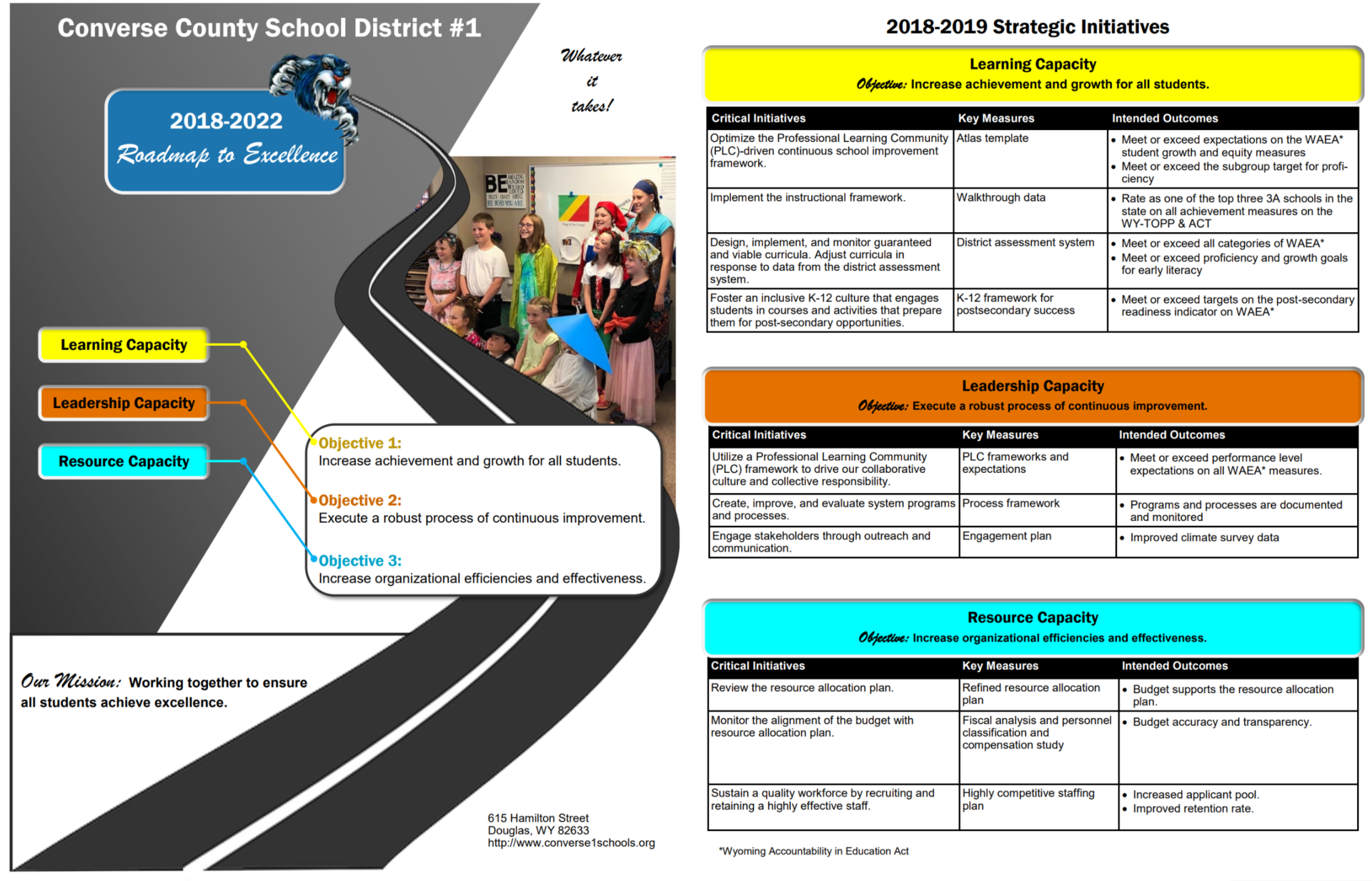 CCSD 1 Roadmap to Excellence