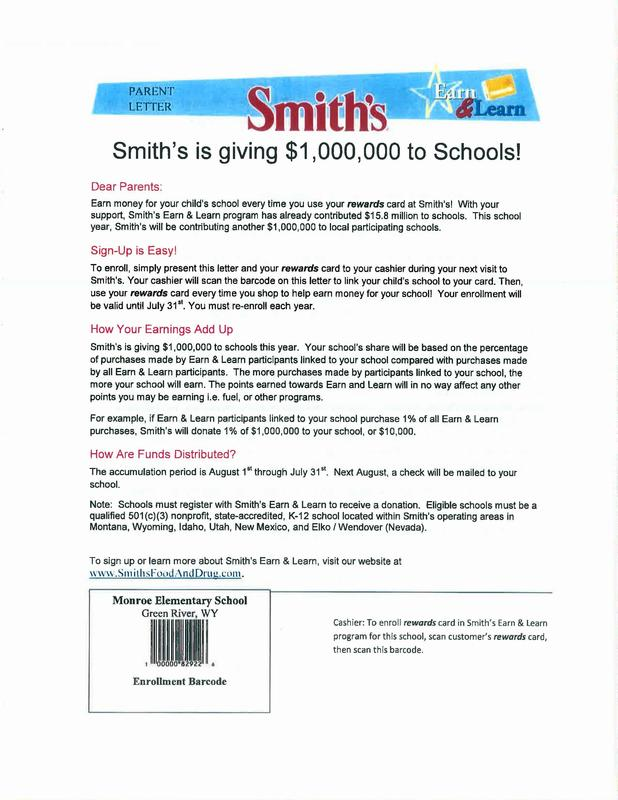 Smith's Earn & Learn Featured Photo