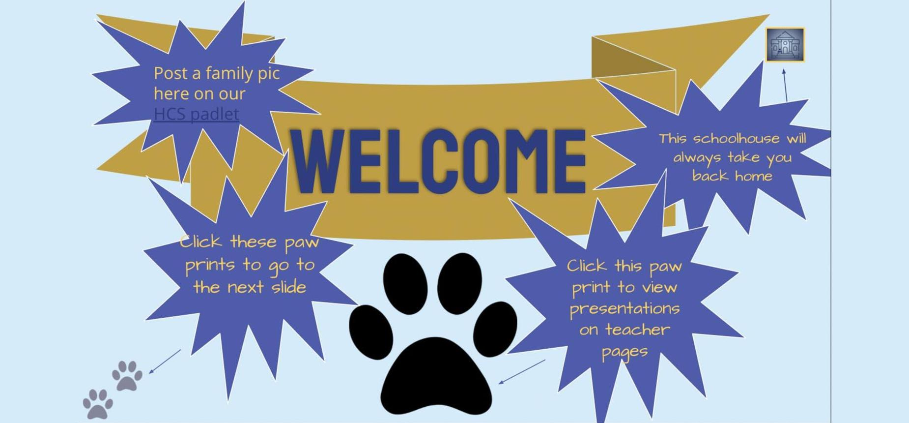 Elementary Open House... click here to GO!