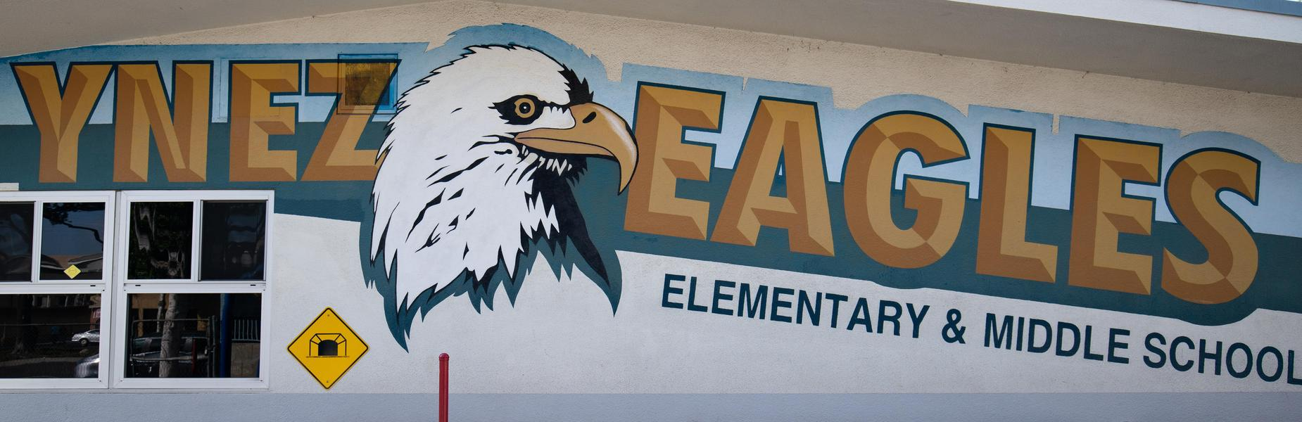 Ynez Eagle Painting Mural