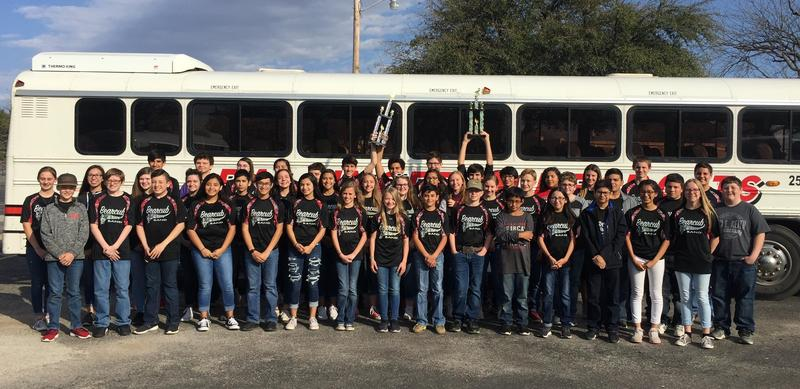 JH band makes all division 1's at contest! Featured Photo