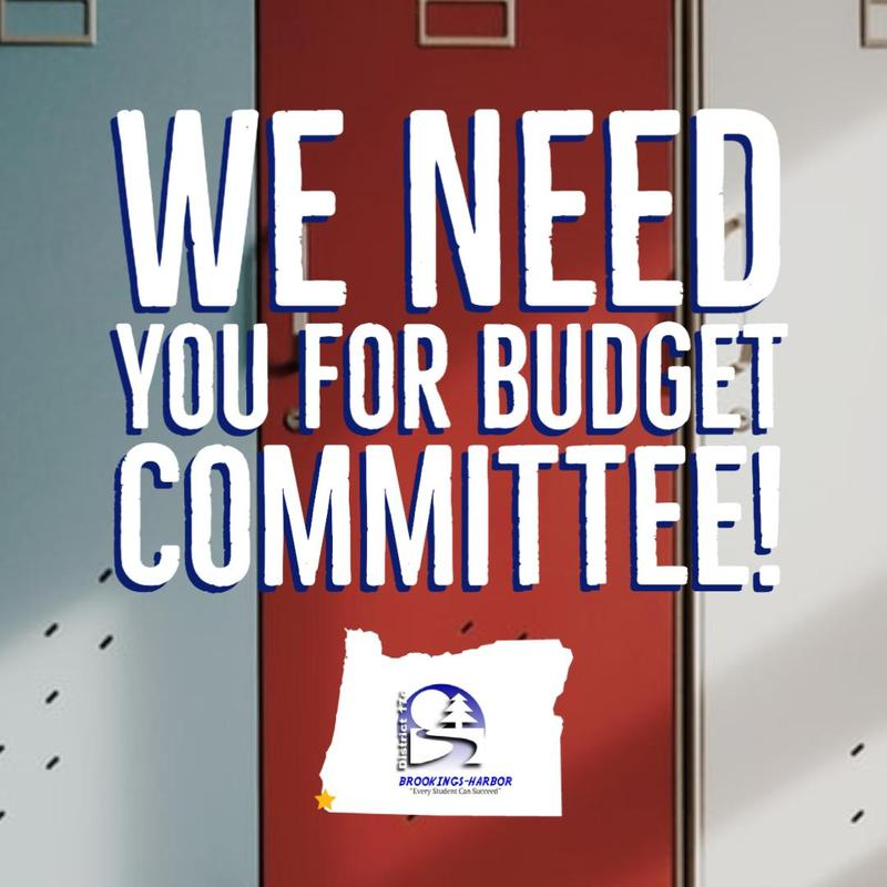 budget committee positions open