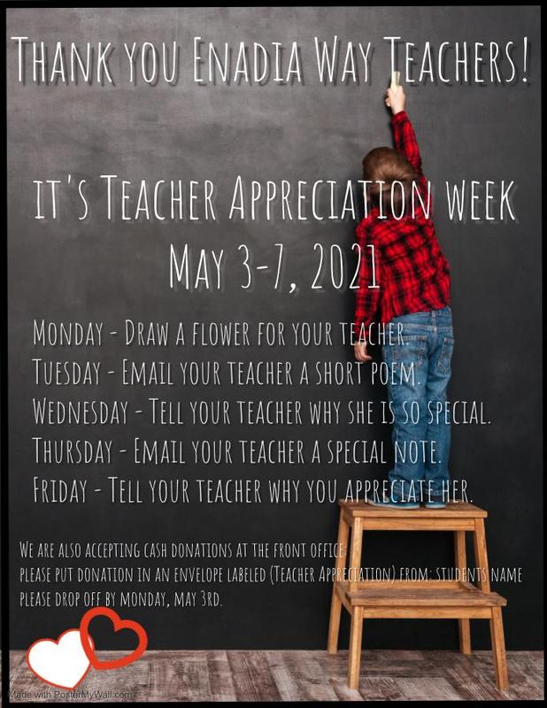 Teacher Appreciation Week May, 3rd- 7th Featured Photo