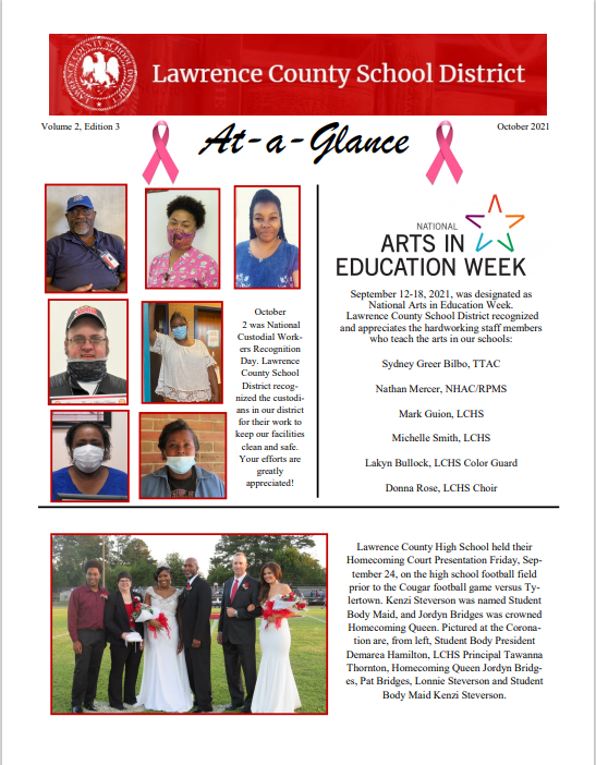 October 2021 At-A-Glance