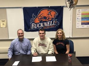 Austin Walley Signs DI Wrestling Letter of Intent to Bucknell University