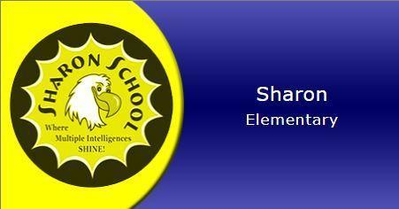 Sharon Elementary School eagle logo