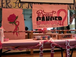 Pink out dance