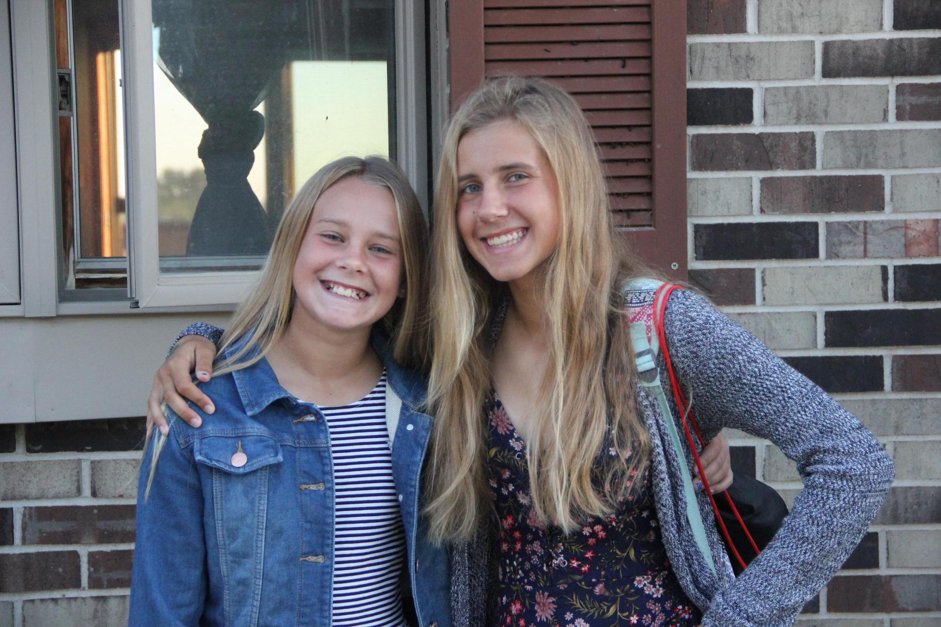 Riley and Megan