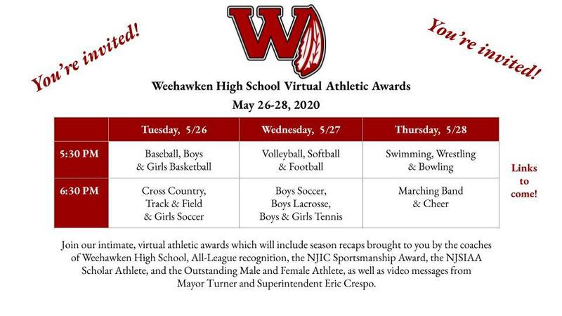 WHS Virtual Athletic Awards