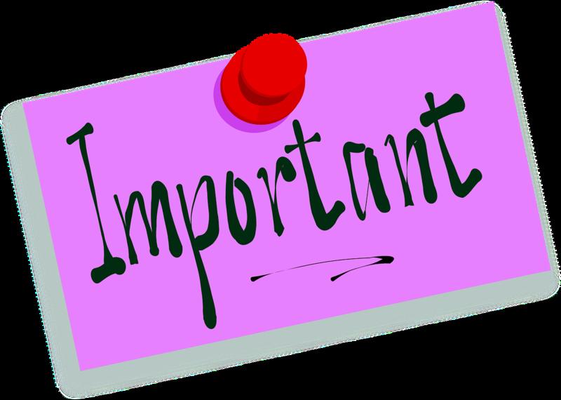Pixabay Important