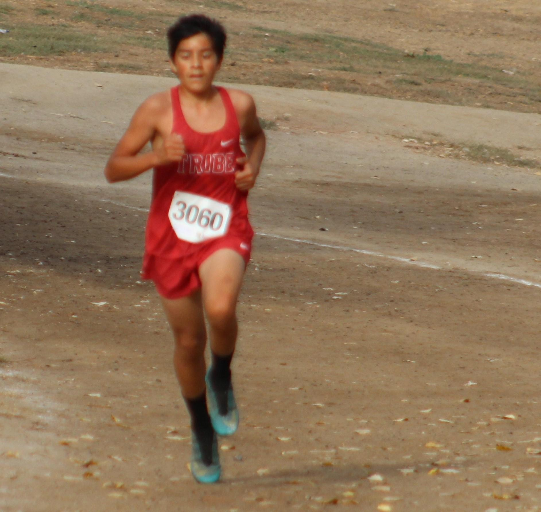 Issac Rivera running