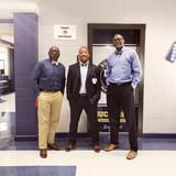 Mr. Sales, Mr. Kennedy, and Mr. Bell looking sharp for Bow Tie Tuesday!