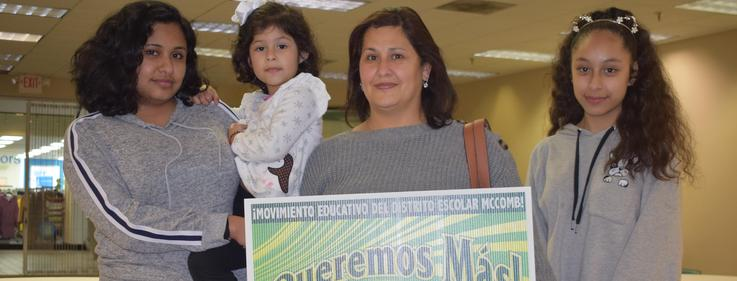 Latino Family endorse We Want More Movement 2019