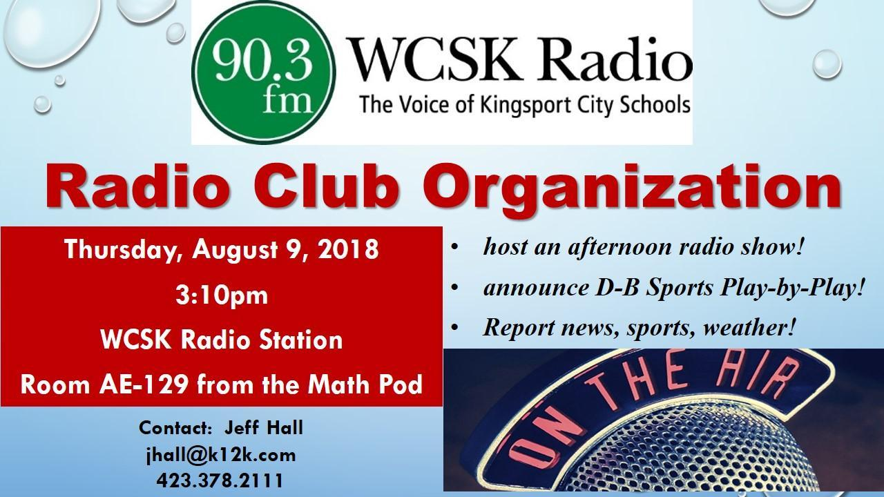 Radio Club Organization