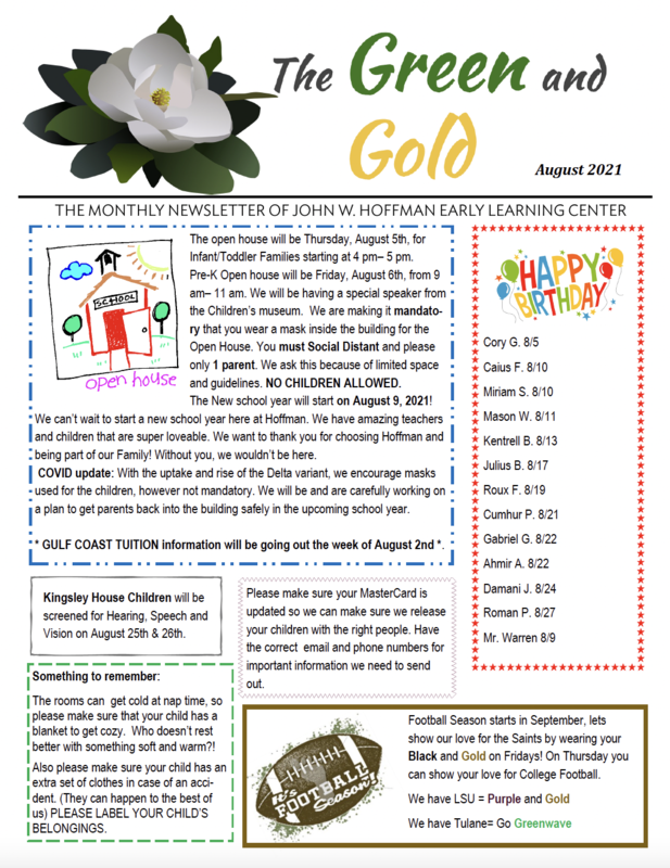 August Newsletter Featured Photo