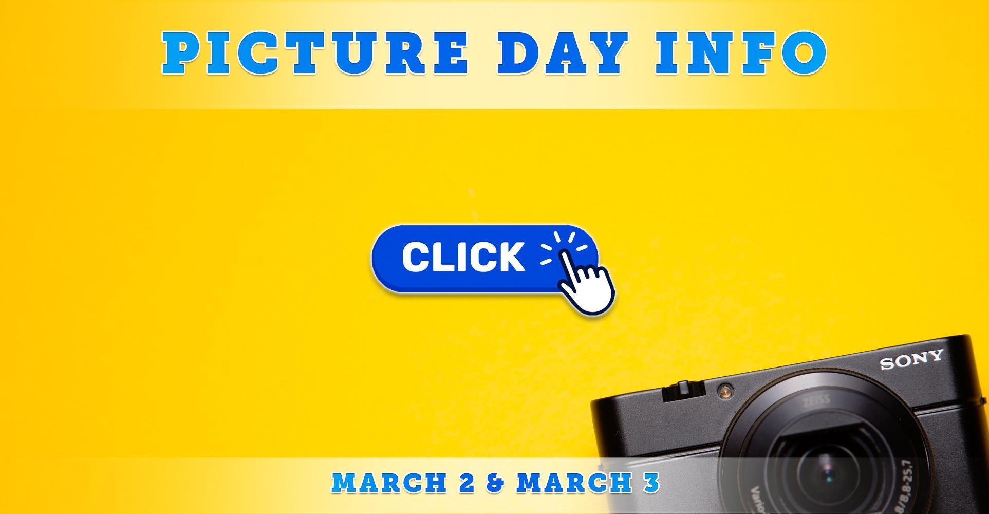 Linda Vista Picture Day Info   March 2 & 3