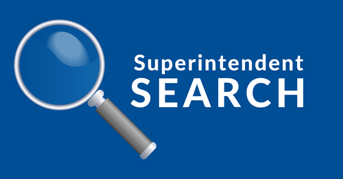 Image that reads superintendents search to announce article - no link
