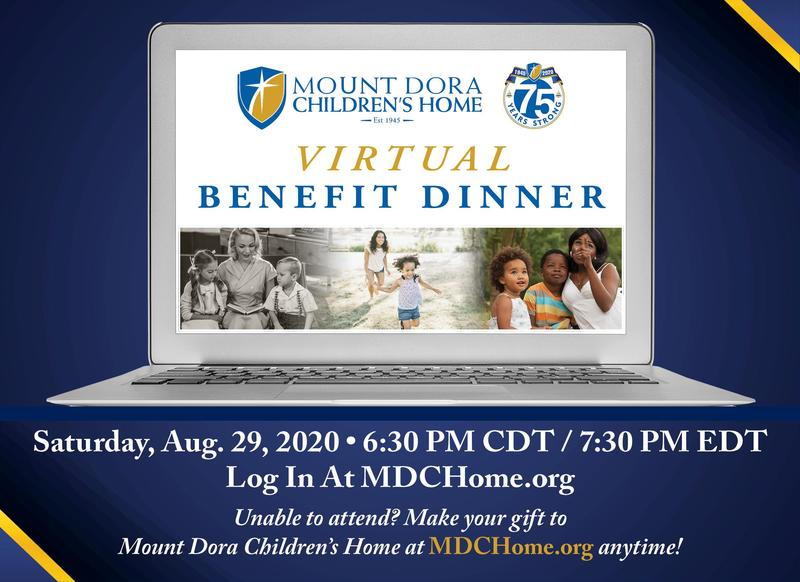 Join Us for a Virtual Benefit Dinner on Aug. 29th Featured Photo