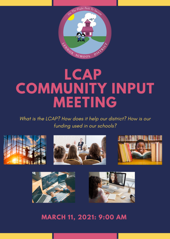 LCAP flyer English