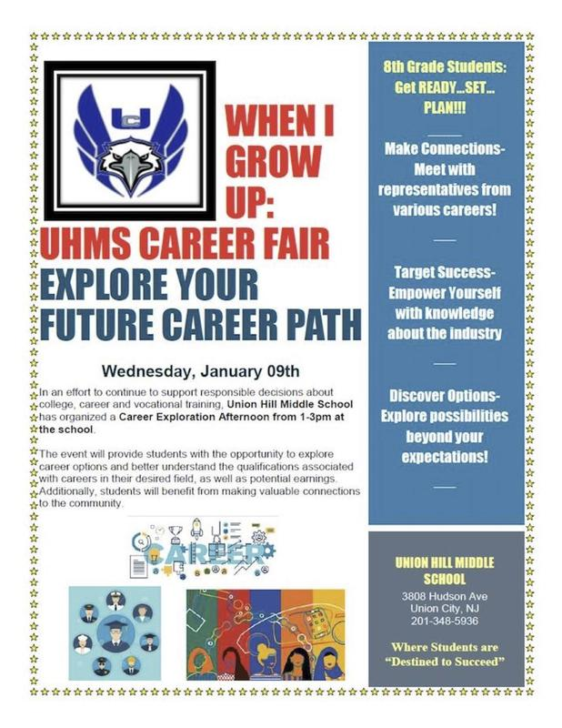 UHMS Career Fair Flyer
