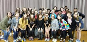 The BCHS Honors Choir will perform in New York City