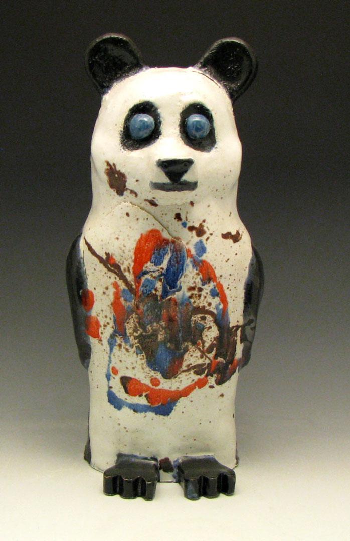 panda ceramic figure