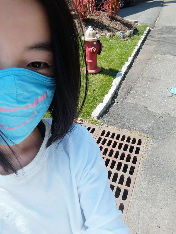 "WHS AP Environmental Science student Kimmy Su is among a group of student volunteers who ""adopted"" several storm drains in their neighborhoods to help protect local watersheds."