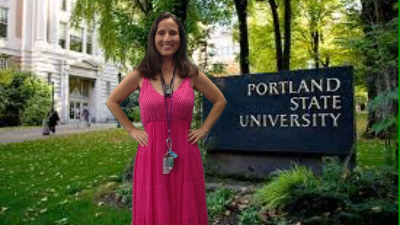Miss Cruz and Portland State University