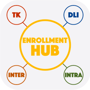 Enrollment Hub button