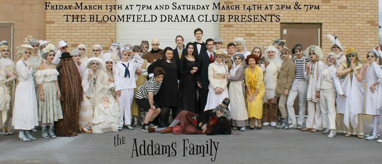 students in the Adams Family