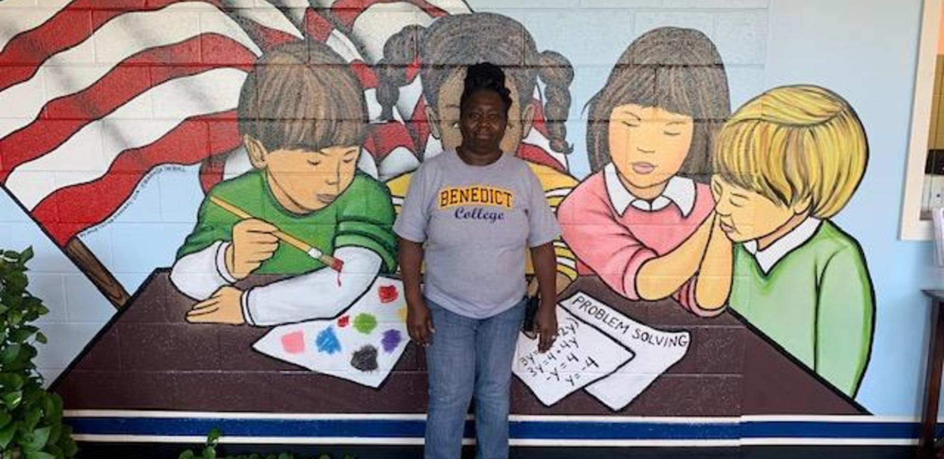 Mrs. Durham representing Benedict College