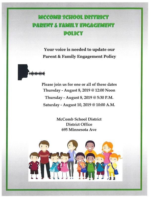 Family and Parent Engagement Meeting