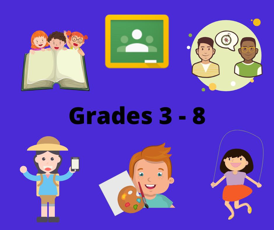 Grades 3-8