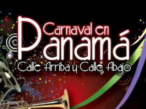 Carnaval in Panama. Upper Street and Lower Street