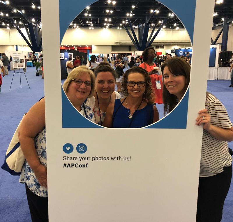 Several UC faculty members attended AP Conferences this summer Thumbnail Image