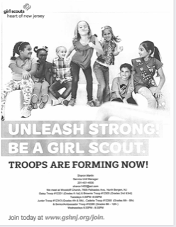 Be a Girl Scout!