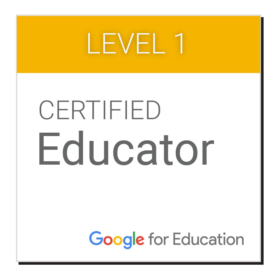 Level 1 google certified