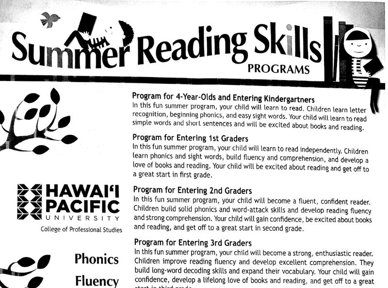 Summer Reading Skills Programs Featured Photo