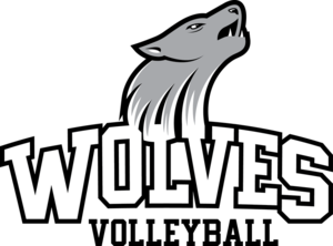 Wolves Volleyball Logo