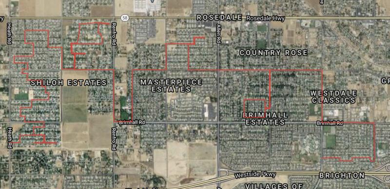 Patriot Parade Route