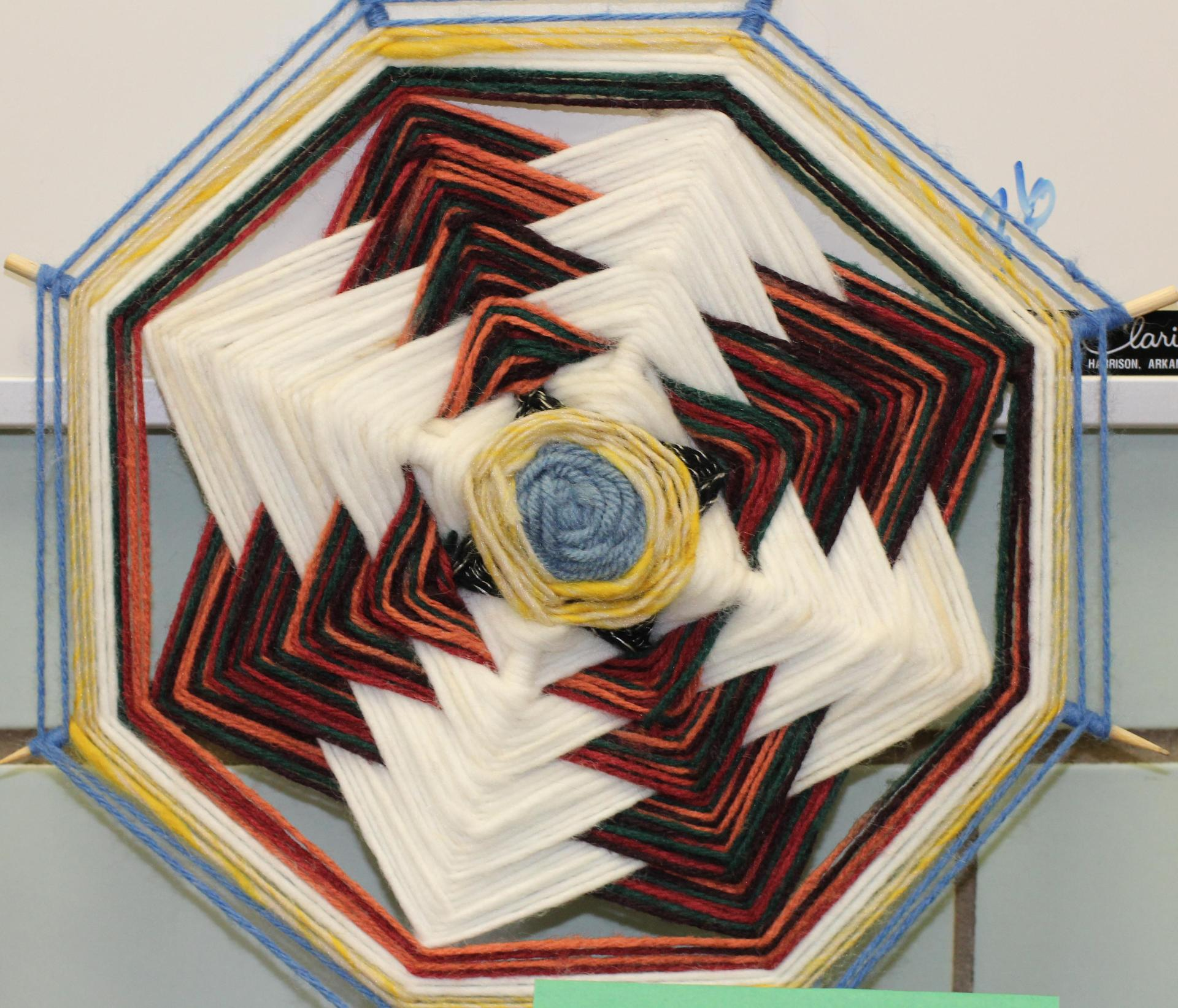 AHS Art yarn weaving