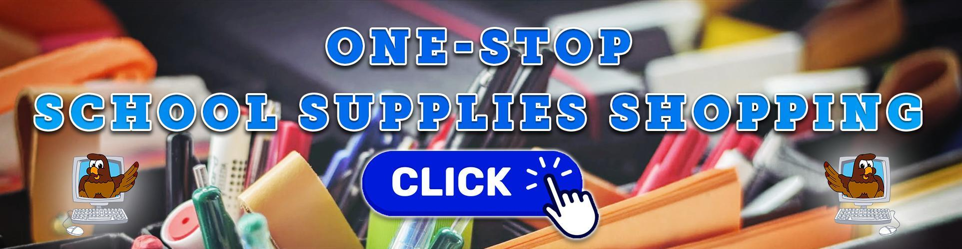 One-Stop School Supplies Shopping