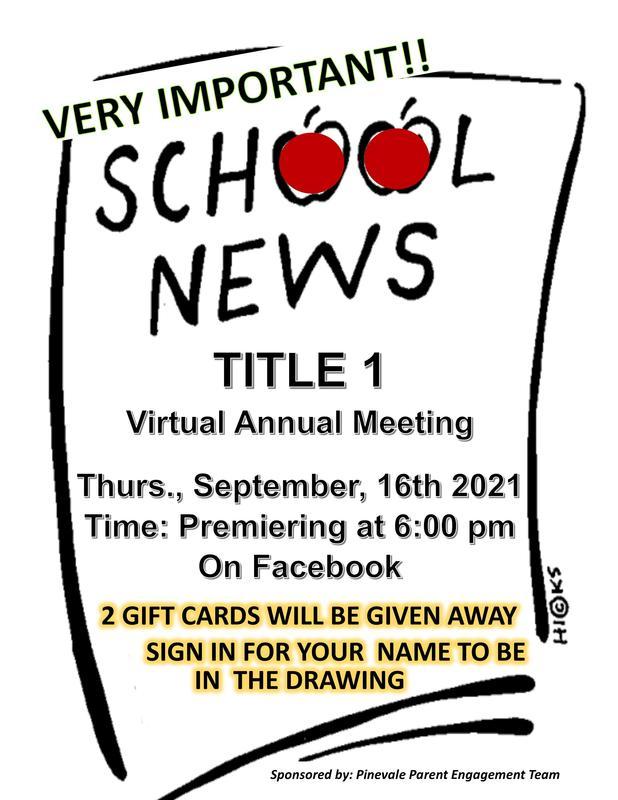 Title I Virtual Annual Meeting
