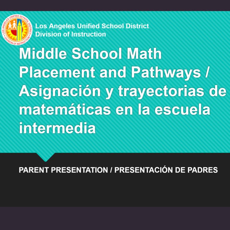 Math Pathways at Sutter Middle School / Caminos matemáticos en la escuela secundaria Sutter Featured Photo