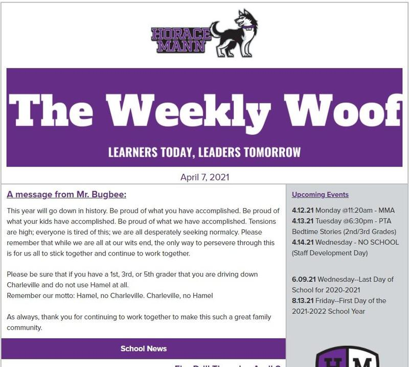 The Weekly Woof for April 7, 2021 Featured Photo