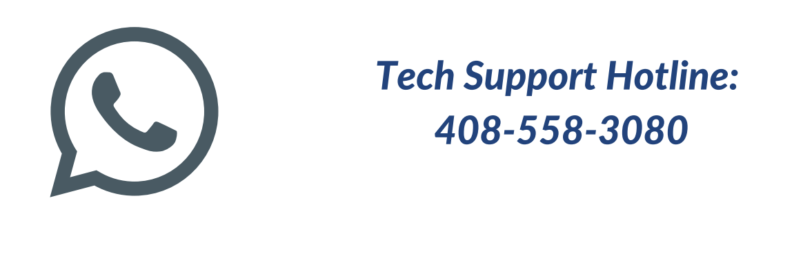 Tech Hotline: 408-558-3080